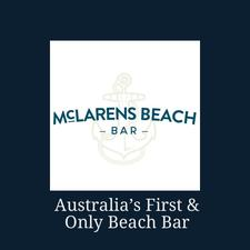 Mclarens Beach Bar logo