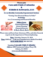 "Free Buffet & Seminar ""Getting Your Financial House In..."