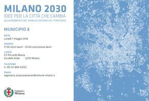 Milano 2030. Idee per la città che cambia. Municipio 8