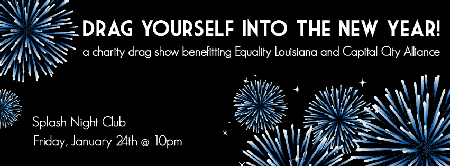 Drag Yourself into the New Year: A Charity Drag Show