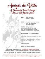 Amigos de Vista - A Community Event