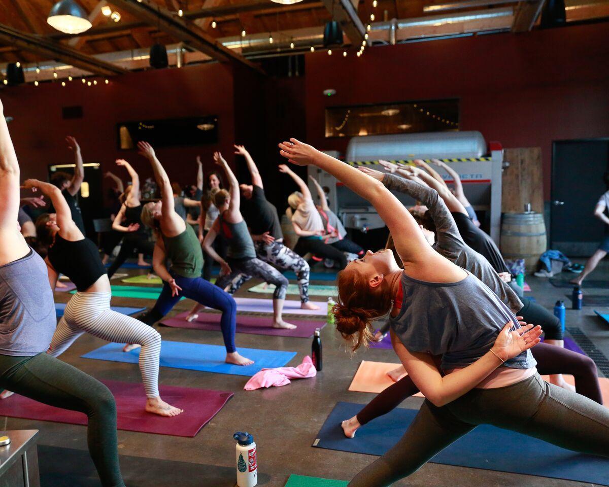 VineYasa Yoga + Wine at Bigsby's Folly