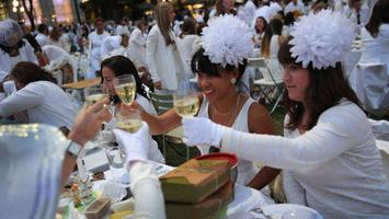 All-White Champagne Brunch for Women - Climbing the...