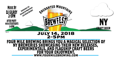 Enchanted Mountains Brewfest 2018