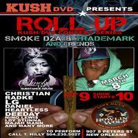 Smoke DZA & Trademark Roll Up Kush DVD Concert