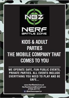 Nerf Battle Zone logo