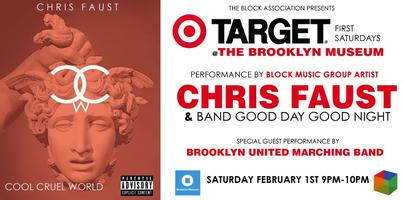 SAT FEB 1ST  TARGET FIRST SATURDAY AT BROOKLYN MUSEUM...