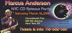 NYC MARCUS ANDERSON CD Release Concert