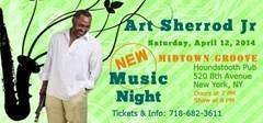 New Music Night: ART SHERROD JR