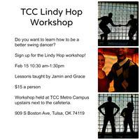 TCC Swing Club Lindy Hop Workshop!!