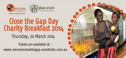 Menzies Close the Gap Day Charity Breakfast 2014