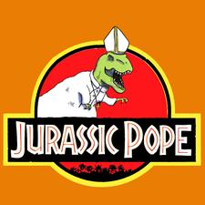 Jurassic Pope logo