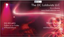 The DC Lobbyists LLC AND DARKEVE PRODUCTIONS logo