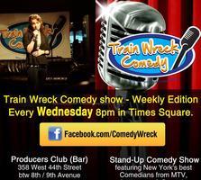 Train Wreck Comedy - Super Bowl Party Edition