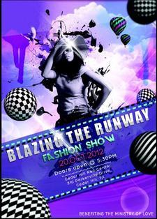 Blazing The Runway  logo