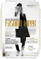 Fashion Week Benefit F/W 2014