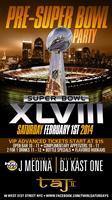 DTCB Pre-Super Bowl Party. HOT 97 J.Medina & DJ KAST...