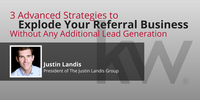3 Advanced Strategies to Explode Your Referral Business