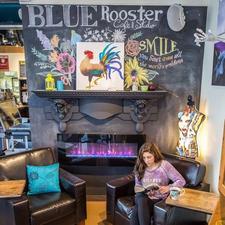 Blue Rooster Cafe & Studio logo