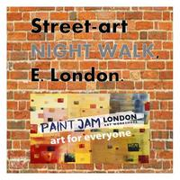 Street-art NIGHT WALK, ( E.London) - Thurs 17th April 2014 logo