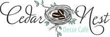 The Cedar Nest Decor Cafe Inc. logo