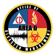 Area D Office of Disaster Management logo