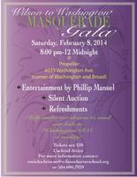 Wilson to Washington Masquerade Gala