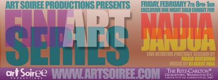 Art Soiree Exclusive Exhibit for Nadia Janjua The Ritz...