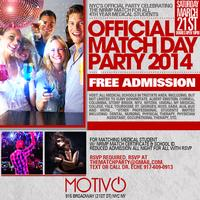 OFFICIAL MATCH PARTY 2014