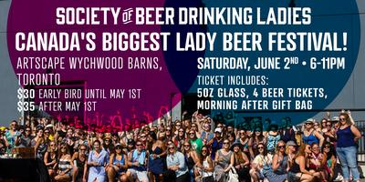 Canada's Biggest All Ladies Beer Festival