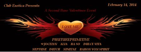 "Club Exotica presents ""Love Me"" A Second Base..."