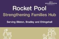Rocket Pool Strengthening Families Hub logo