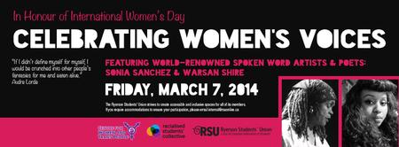4th Annual Celebrating Women's Voices