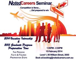 Vacation Internship & Graduate Program Preparation...