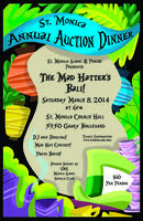 "2014 Auction Dinner ""Mad Hatter's Ball"" benefitting"
