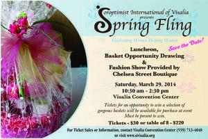 Soroptimist International of Visalia Spring Fling Fundr...