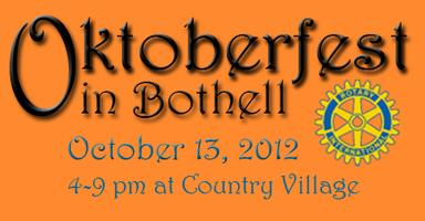 Oktoberfest in Bothell     Celebrate Fall with Music,...