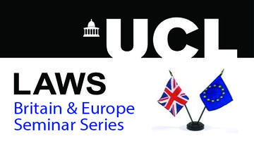Britain & Seminar Series: Making the most of Europe...