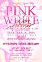 Pink & White Affair Valentines Networking Party &...