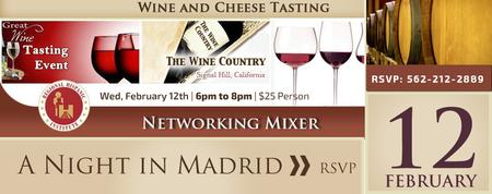 A night in Madrid - Wine Tasting Networking Mixer