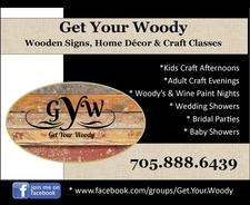 Get Your Woody- Your She Shack Home Decor logo