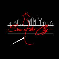 SEW N' THE CITY AND FLAVORFUL VIBES ENT logo