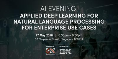 AI Evening: Applied Deep Learning for Natural Language...