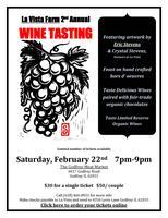 2nd Annual La Vista Farm Wine Tasting