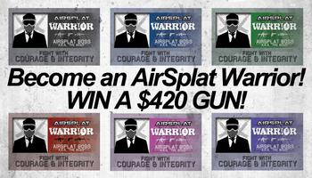 Become an AirSplat Warrior! - WIN A $420.99 GUN!