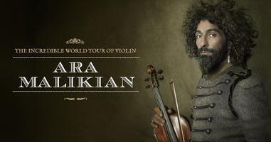 Ara Malikian en Arroyo de la Encomienda (Valladolid). The Incredible World Tour of Violin .