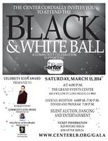 The Black & White Ball Presented by The LGBTQ Center...