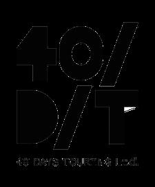 40 Days Touring logo