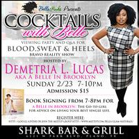 """Cocktails with Belle Viewing Party And Q&A for """"Blood,..."""
