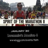 Spirit of the Marathon 2 - Ticket Deadline January 23...